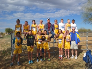 Tempe Prep girls team, undefeated all season!
